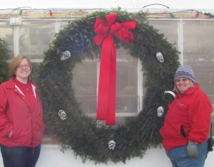 fresh wreaths up to 72 inches across